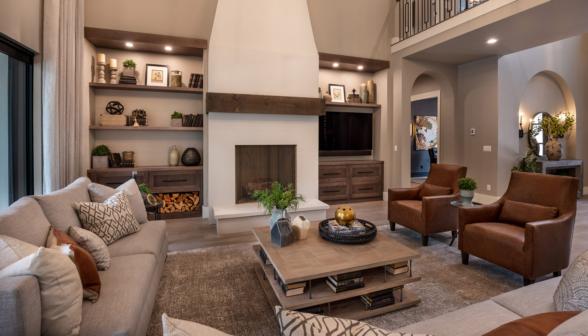 SOD 2021 Living and Fireplace